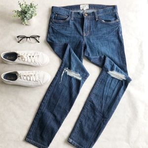 """'the Skinny Ankle Bedford Destroy,jean 9"""" rise"""